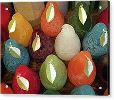 Polychromatic Pears Acrylic Print