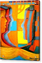 Polymorphism I Acrylic Print by Philip Okoro