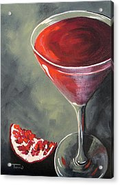 Pomegranate Martini  Acrylic Print