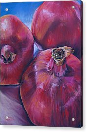 Pomegranate Power Acrylic Print