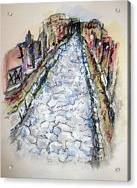 Pompeii Road Acrylic Print