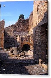 Pompeii,italy Acrylic Print by Italian Art