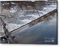 Pompton Spillway From Above Acrylic Print