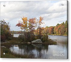 Ponaganset Autumn 2015 Acrylic Print
