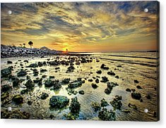 Ponce Inlet Jetty Acrylic Print