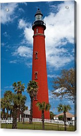 Ponce Inlet Lighthouse Acrylic Print by Christopher Holmes