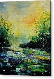 Pond 459060 Acrylic Print by Pol Ledent