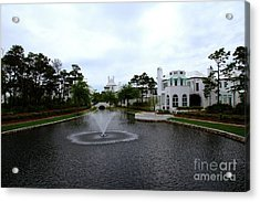 Pond At Alys Beach Acrylic Print