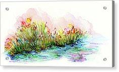 Sunrise Pond Acrylic Print