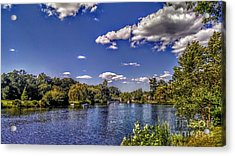 Pond At Verona Park Acrylic Print