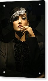 Ponder Me For A Moment Acrylic Print by Jez C Self