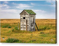 Pendroy Outhouse Acrylic Print by Todd Klassy