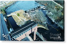 Ponemah Mill And Dam Acrylic Print