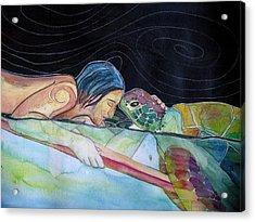 Pono--harmony Acrylic Print by Kimberly Kirk