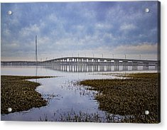 Ponquogue Bridge Hampton Bays Ny Acrylic Print