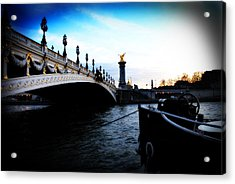 Pont Alexandre Acrylic Print by Cabral Stock