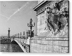 Pont Alexandre Acrylic Print