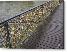 Pont Des Artes Acrylic Print