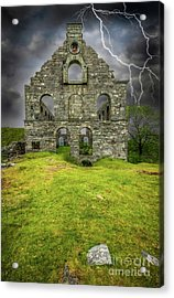 Pont Y Pandy Mill Acrylic Print