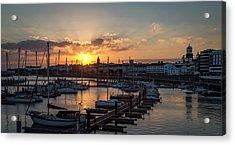 Ponta Delgada Sunset Acrylic Print