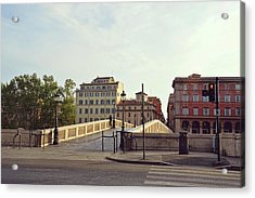 Ponte Sisto Acrylic Print by JAMART Photography
