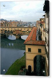 Ponte Vecchio Acrylic Print by Warren Home Decor