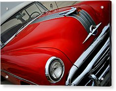 Pontiac Chieftain 1954 Front Acrylic Print