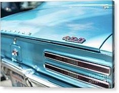 Pontiac Firebird 400 Closeup Acrylic Print