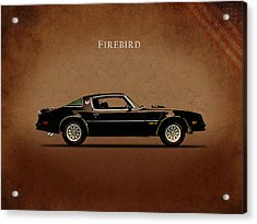Pontiac Firebird Acrylic Print by Mark Rogan