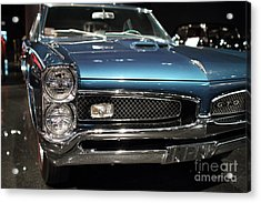 Acrylic Print featuring the photograph Pontiac Gto by Wingsdomain Art and Photography
