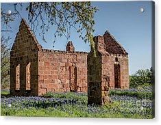 Pontotoc Ruins Acrylic Print