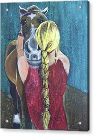 Pony Love Acrylic Print