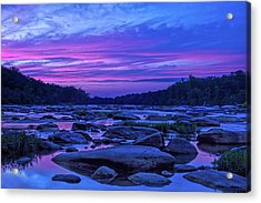 Pony Pasture Sunset Acrylic Print