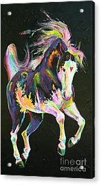 Pony Power I Acrylic Print by Louise Green