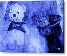 Pooh Bear And Friends Acrylic Print