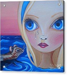 Pool Of Tears Acrylic Print by Jaz Higgins