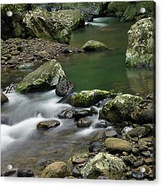 Acrylic Print featuring the photograph Pools And Eddies by Odille Esmonde-Morgan
