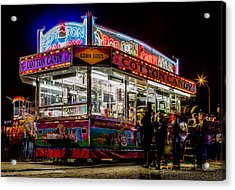Pop And Candy Acrylic Print by Bryan Moore