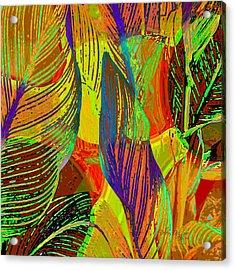 Pop Art Cannas Acrylic Print