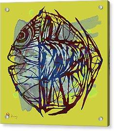 Pop Art - New Tropical Fish Poster Acrylic Print