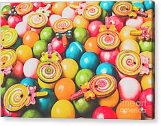 Pop Art Sweets Acrylic Print
