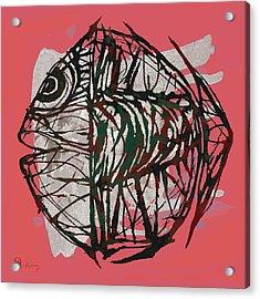Pop Art - Tropical Fish Poster Acrylic Print