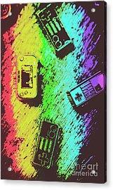 Pop Art Video Games Acrylic Print