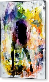 Pop Dance Acrylic Print