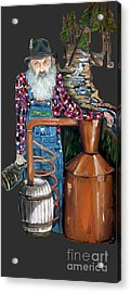 Popcorn Sutton Moonshiner -t-shirt Transparrent Acrylic Print
