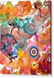 Popfluid 6 Acrylic Print by Sumit Mehndiratta