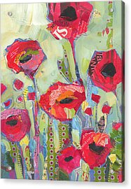 Poppies No 5 Acrylic Print