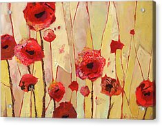 Poppy Crush Acrylic Print