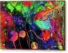 Poppy Enchantment Acrylic Print
