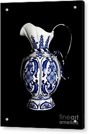 Porcelain 2 Acrylic Print by Jose Luis Reyes